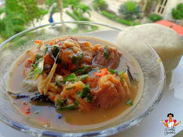 FOOD: Blended Pounded Yam Is The Order Of The Day