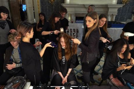 Jasper Conran Backstage LFW September 2017 KOKO TV 4