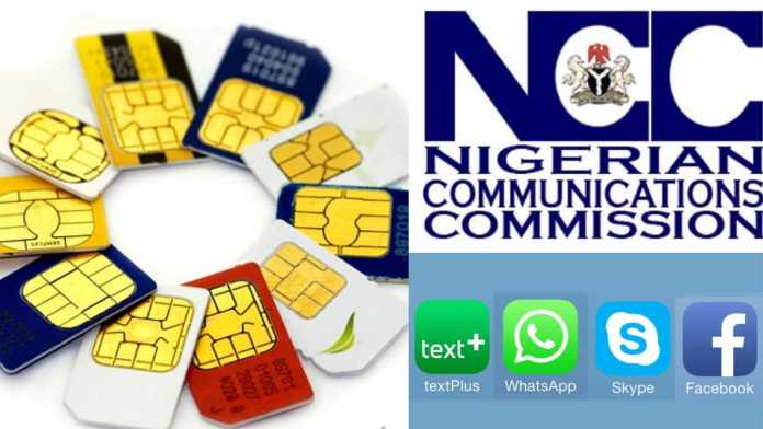 NCC Directs Telecomms To Block SIM Cards Not Connected To NIN