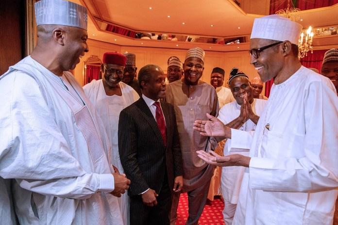 Saraki And Dogara Sabotaged Nigeria's Growth Through Budget Padding - Tinubu 3