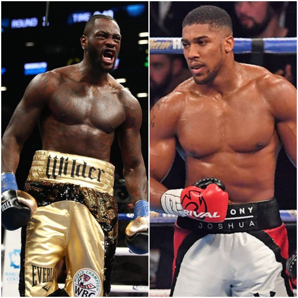 """""""I'm Coming For You"""" Deontay Wilder Tells Anthony Joshua"""