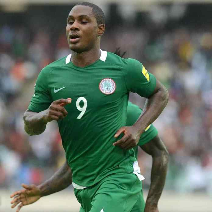 Odion Ighalo for Nigeria