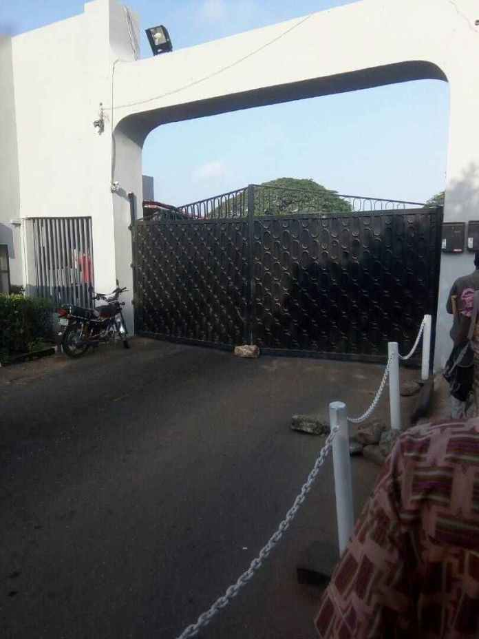 University Of Ibadan Goes On Indefinite Strike...School Gates On Lockdown 2