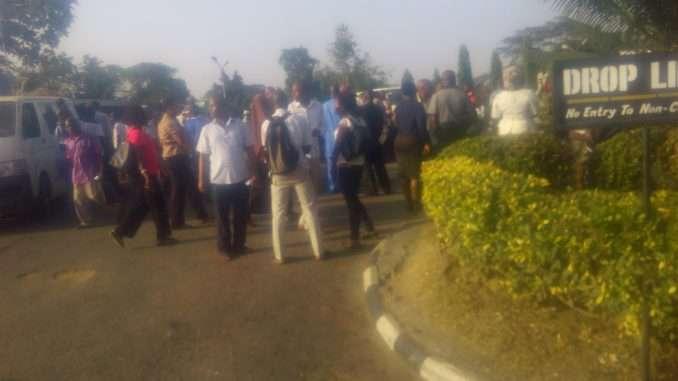 University Of Ibadan Goes On Indefinite Strike...School Gates On Lockdown 3
