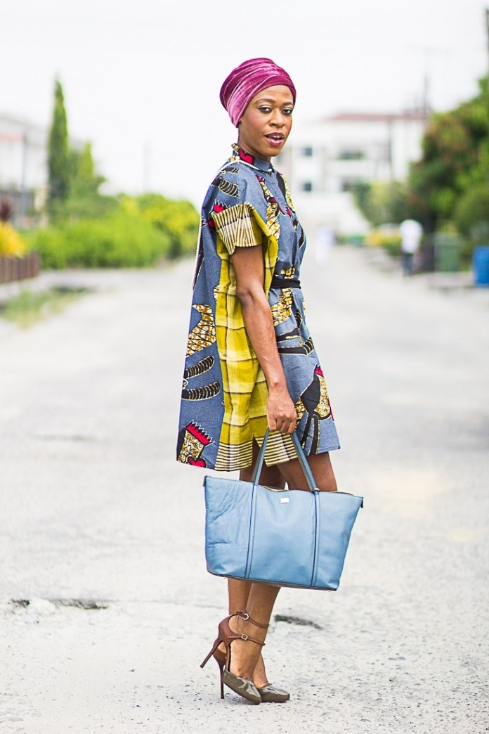 Jummah Fashion: Wearing Turbans On Your Ankara Detailed Outfits 2