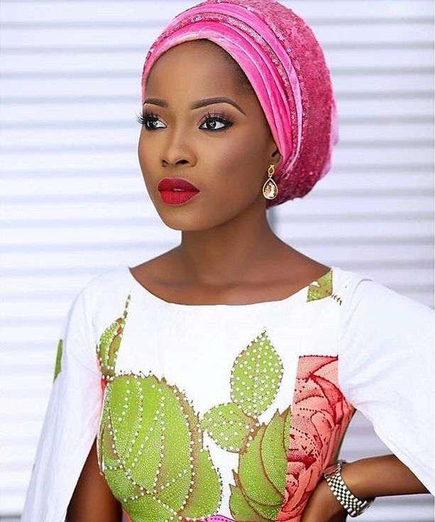 Jummah Fashion: Wearing Turbans On Your Ankara Detailed Outfits 7