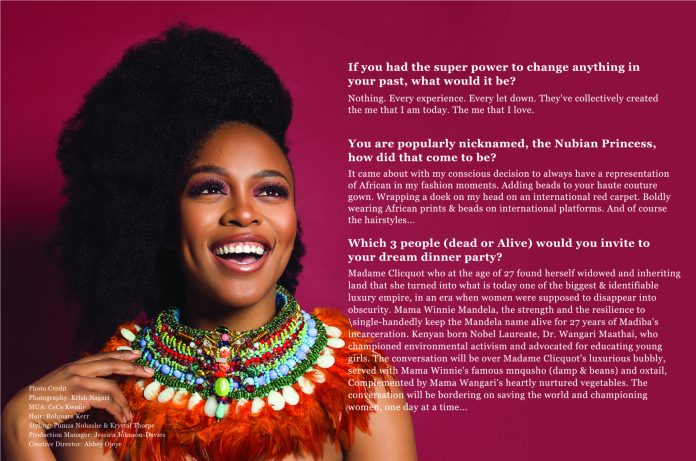 We Are The Groundbreakers! South African Actress Nomzamo Mbatha Talks Rihanna, Being UNHCR Ambassador And A Bright Future For Africans...As She Covers The KOKO Magazine 12