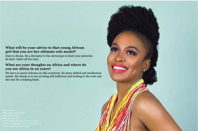 We Are The Groundbreakers! South African Actress Nomzamo Mbatha Talks Rihanna, Being UNHCR Ambassador And A Bright Future For Africans...As She Covers The KOKO Magazine 14