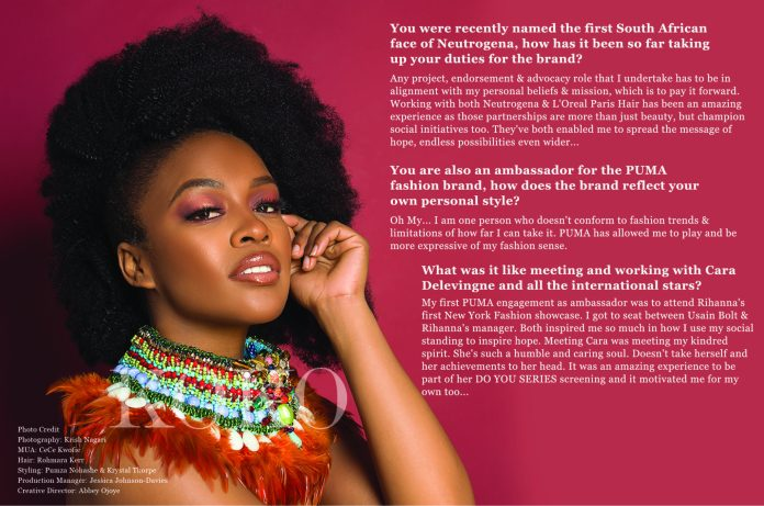 We Are The Groundbreakers! South African Actress Nomzamo Mbatha Talks Rihanna, Being UNHCR Ambassador And A Bright Future For Africans...As She Covers The KOKO Magazine 9