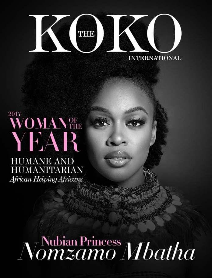 Breaking! 'The Nubian Princess' Nomzamo Mbatha Is KOKO's 2017 'Woman of the Year' 1