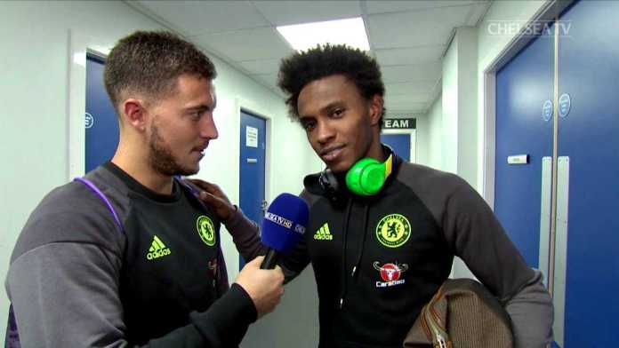 Chelsea Winger Willian Desperate To See His Teammate Eden Hazard Remain At Chelsea 3
