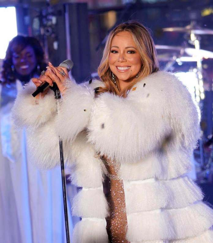 She's Back! Mariah Carey Redeems Herself With Amazing Performance After Last Year's Rockin' Eve Debacle 2