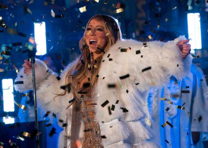She's Back! Mariah Carey Redeems Herself With Amazing Performance After Last Year's Rockin' Eve Debacle 4