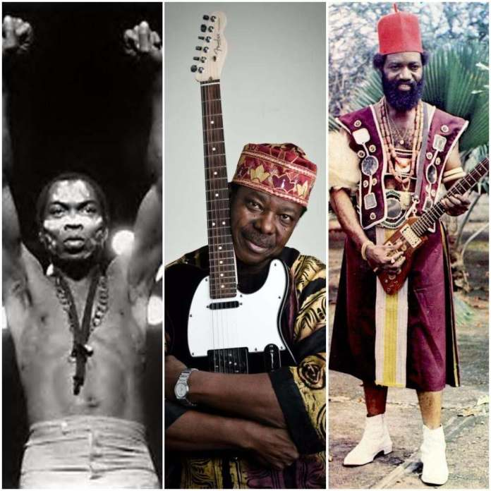 TBT: Top 5 Nigerian Music Legends Of All Time 1