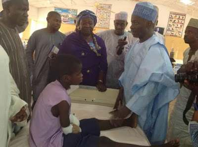 No Child Should Ever Be Made To Go Through This Kind Of Pain - Gov. Dankwamba On The 12-Year Old Amputated 2