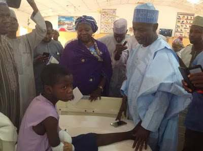 No Child Should Ever Be Made To Go Through This Kind Of Pain - Gov. Dankwamba On The 12-Year Old Amputated 3