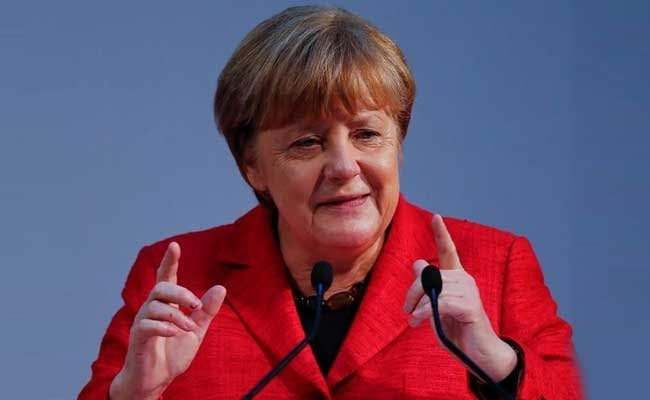 German Chancellor, Angela Merkel, Seen Shaking Again In Berlin 5