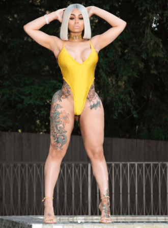Sun, Sea And Swimwear: Blac Chyna Flaunts Her Surgically Enhanced Body In Swimsuit Shoot 1