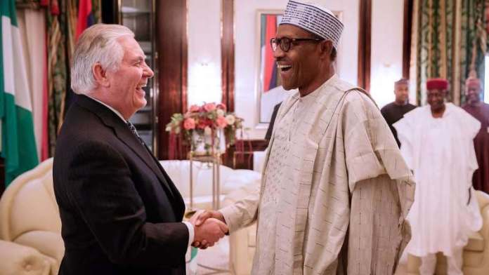 Breaking: Donald Trump Fires Rex Tillerson As Secretary Of State...Just After Meeting Buhari 1