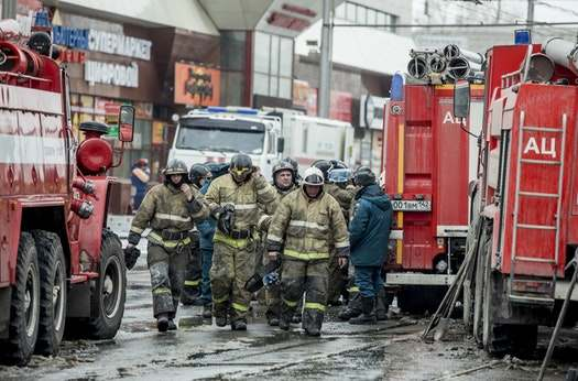 Sad! Fire Outbreak In A Russian Shopping Mall Leaves At Least 64 People Dead 3