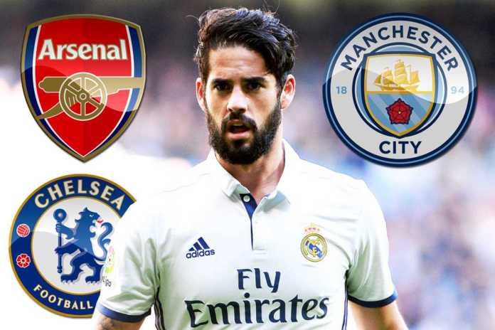 Real Madrid Forward, Isco, Is Set To Snub Manchester United And Arsenal For Man City 2