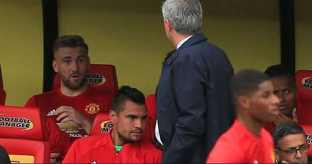 """""""Why Are You Always Picking On Me?"""" - Manchester United's Luke Shaw Accuse Jose Mourinho Of Victimization 2"""