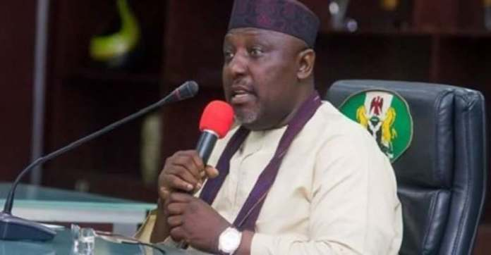 Shots Fired!!! Oshiomhole Is The Greatest Player Of Anti-Party Politics In APC- Rochas Okorocha 3
