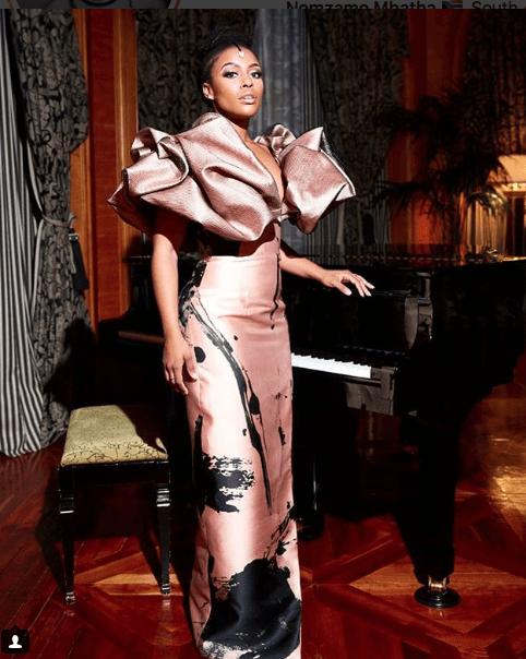 #MadeInSA! Nubian Princess Nomzamo Mbatha Is Stunning On The Cover Of Glamour Magazine 2