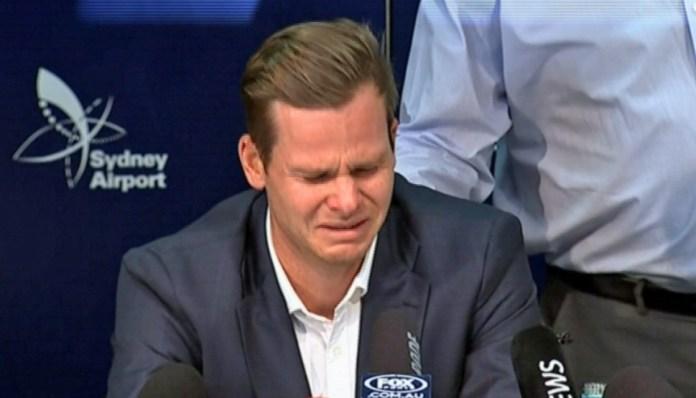 Former Australia Captain Steve SmithBreaks Down In Tears As He Apologies Over Ball-tampering Scandal 3