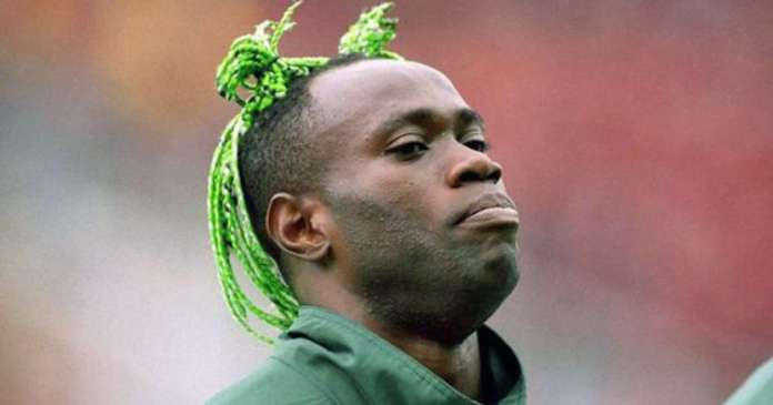 A Legend Forever! Nigerian Football Federation Celebrates Former Super Eagles Defender, Taribo West On His 44th Birthday 2