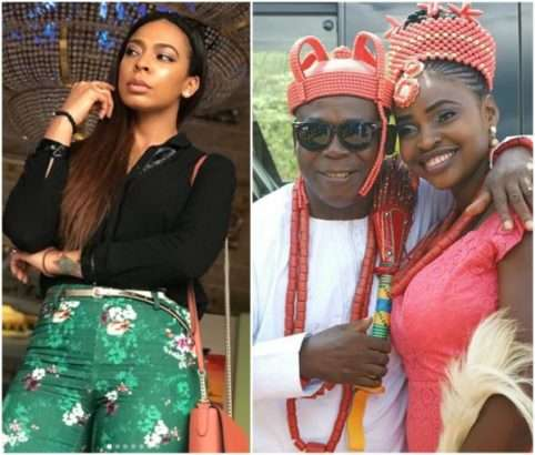 New Wife: T-boss Shades Her father In New IG Post 1