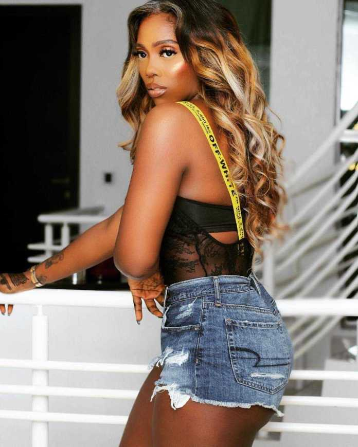 Tiwa Savage Flaunt Her Curves In A Racy Lingerie Ahead Of Her Gidi Fest Performance 3