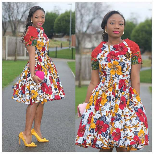 5 Modern Ways To Stylishly Mix And Fuse Your Ankara Game 3