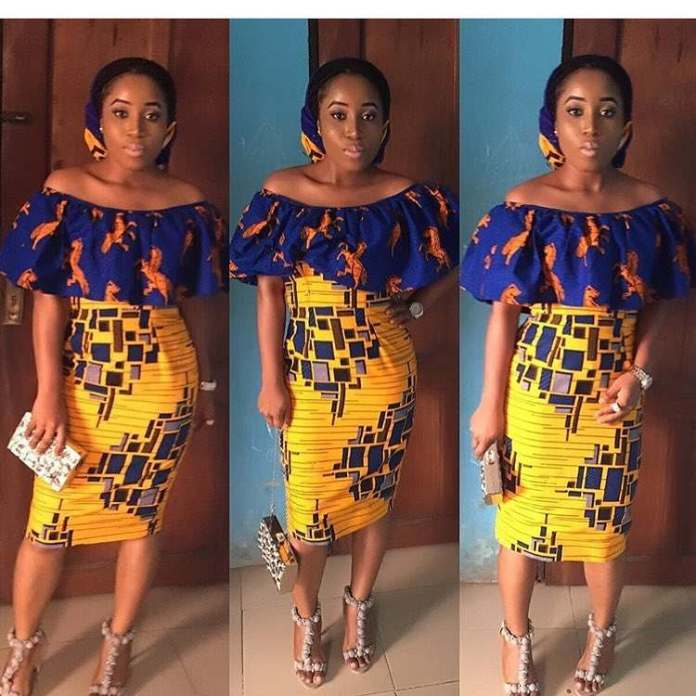 5 Modern Ways To Stylishly Mix And Fuse Your Ankara Game 4
