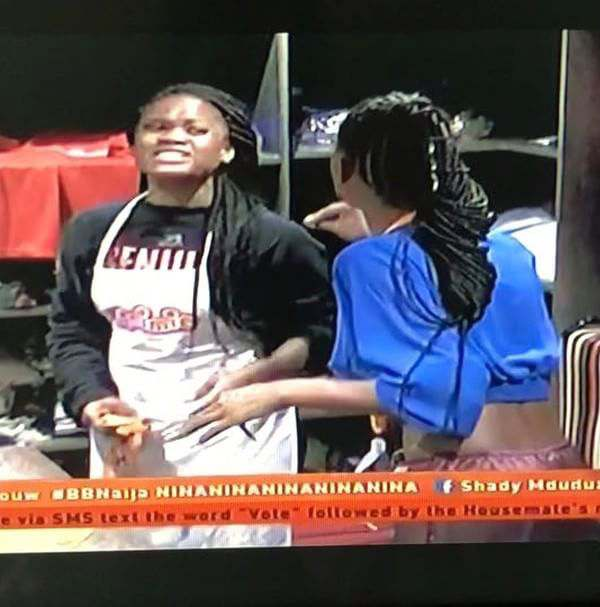 BBNaija: Ex Housemate, Princess, Says The Fight Between Cee c, Nina And Khloe Made Her Day 4