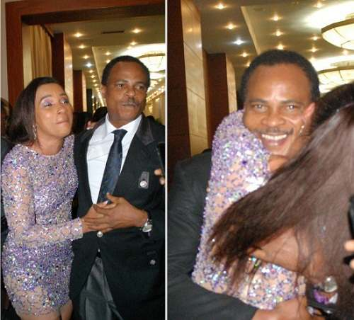 Must See: Ibinabo Fibresima And Fred Amata All Yummy As They Strike A Pose With Their Daughter 1