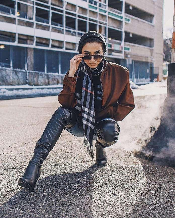 Muslimah Style: Nadya Hadidi Is The Hijabi Queen Of Street Style 2