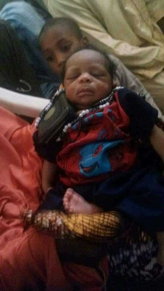 Shocking! Woman Gives Birth To Baby With Quran And Bead In His Hands 2