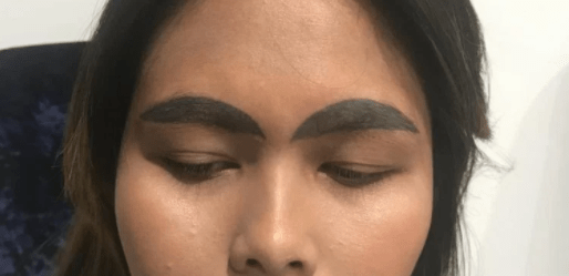 Hilarious! Woman's Fuller Brows Tattoo, Goes Wrong 2