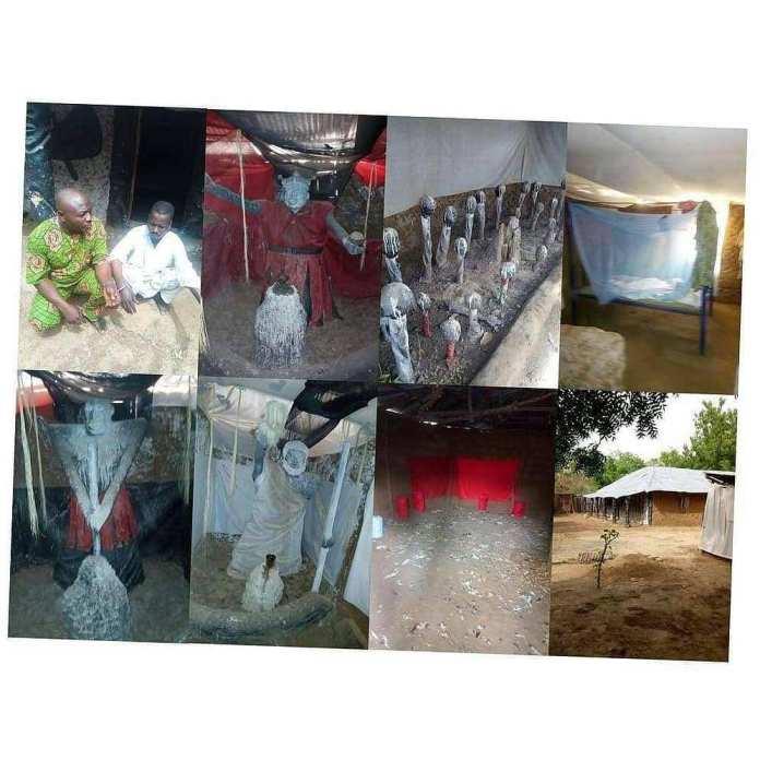Bursted! Ritualist Den Found In Kwara State 2