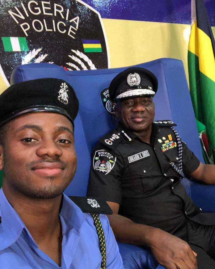 Korede Bello Decorated As Honorary Superintendent Of Police 2