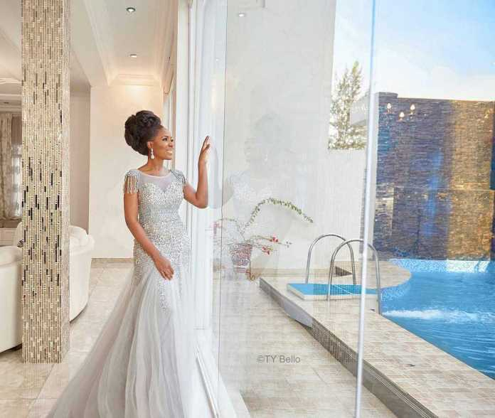 Trending! 5 Wedding Dresses That Would Be Perfect For Linda Ikeji's Iconic Body 1