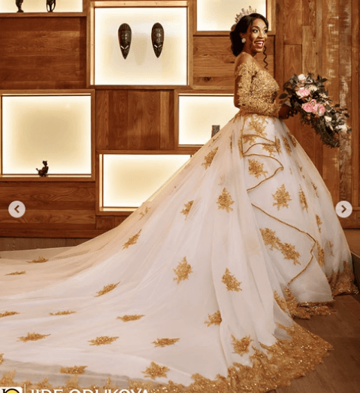 Trending! 5 Wedding Dresses That Would Be Perfect For Linda Ikeji's Iconic Body 3