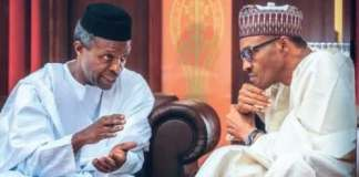 Audio VP: Tweeps Shade Osinbajo Over Buhari Signing Bills Abroad