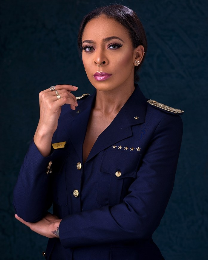 T-Boss Shows Her Love For Uniform In New Pilot Themed Photoshoot 2