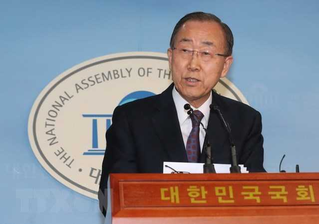 Former United Nations Secretary-General, Ban Ki Moon, Is Now The Chairman Of The Boao Forum For Asia 2
