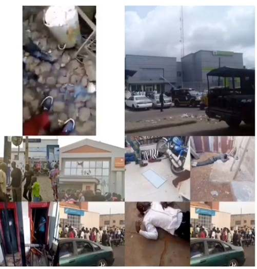 These Are The Cars Used By Armed Robbers To Escape The Offa Bank Robbery In Kwara State 2