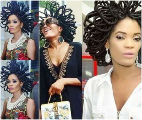 Interesting! Model With N40 Million Hair Gets Police Protection After Several People Started Threatening Her 1