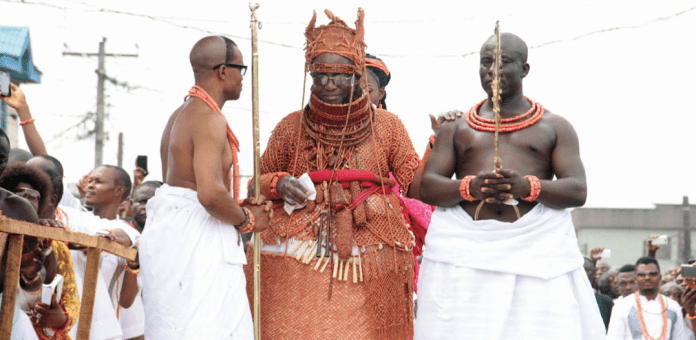 Oba Of Benin Visits The Ooni Of Ife 1