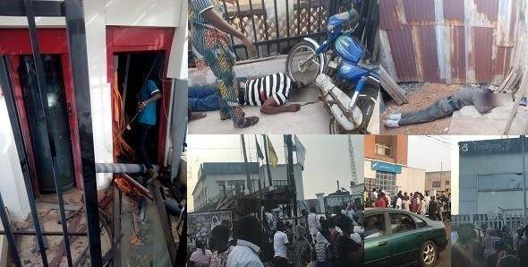 These Are The Cars Used By Armed Robbers To Escape The Offa Bank Robbery In Kwara State 3